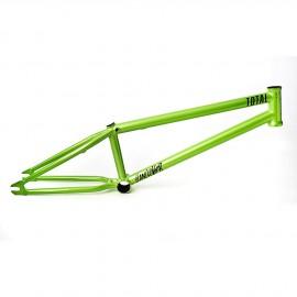 HANGOVER H2 20.6 GREEN TOTAL BMX FRAME