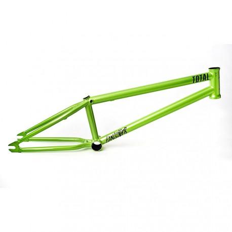 CADRE HANGOVER H2 20.6 GREEN TOTAL BMX