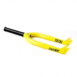 HANGOVER FORK YELLOW TOTAL BMX