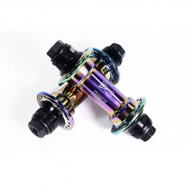 COLONY WASP FRONT HUB 10MM RAINBOW