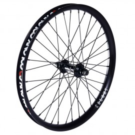 PINNACLE COLONY FRONT WHEEL BLACK/BLACK
