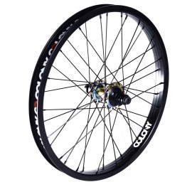 PINTOUR COLONY REAR WHEEL 9T RHD BLACK/RAINBOW