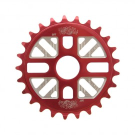 ROCK'N'ROLL 25T SPROCKET TOTAL BMX RED