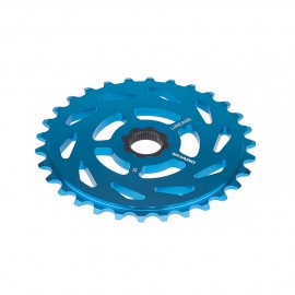 HARO LINEAGE SPROCKET 27T TEAL