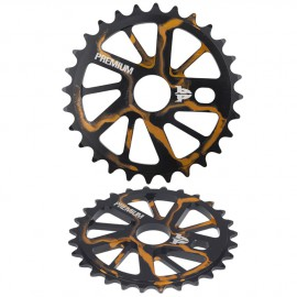 PREMIUM GNARSTAR SPROCKET SMOKE GOLD 25T