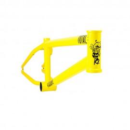 CADRE TOTAL BMX KILLABEE K2 20.4 JAUNE