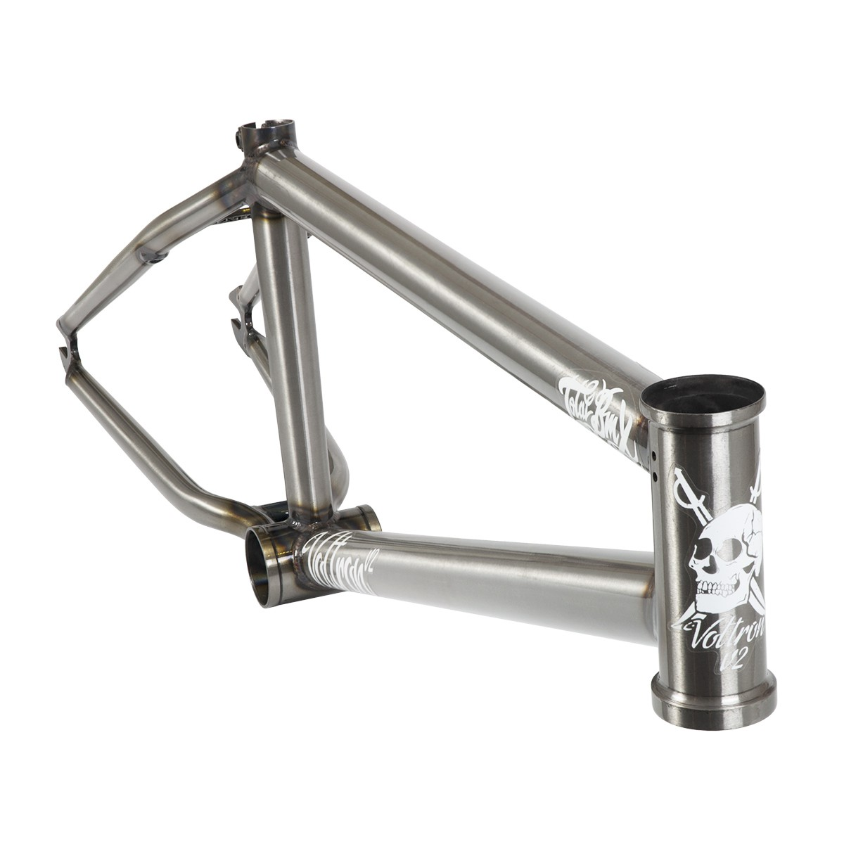 TOTAL BMX VOLTRON V2 21 RAW CLEAR COAT FRAME