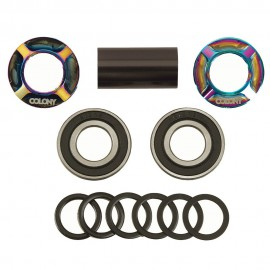 MID BB KIT COLONY BLACK 19MM RAINBOW