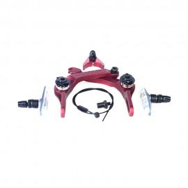 BRETHREN BRAKE SET COLONY BMX RED
