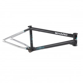 HARO LINEAGE 20.5 BLACK-CHROME FRAME