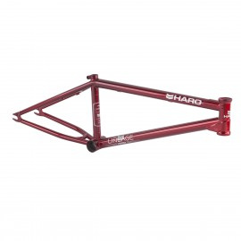 "HARO LINEAGE 21"" CANDY RED FRAME"