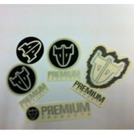 STICKER PREMIUM  5 PIECES