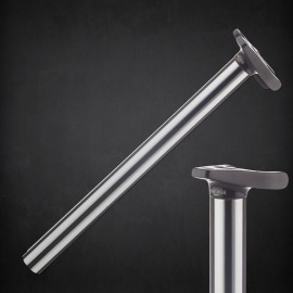 LINEAGE TRIPOD FLUTED POST 25.4 BLACK/SILVER