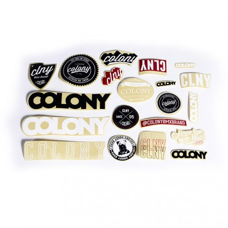 STICKERS PACK COLONY BMX
