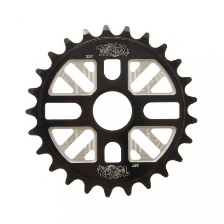 ROCK'N'ROLL 25T SPROCKET TOTAL BMX BLACK