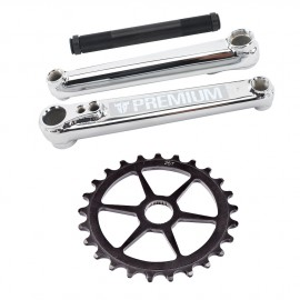 PREMIUM 1948 175MM CRANKSET + SPROCKET 28 T