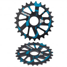 PREMIUM GNARSTAR SPROCKET SMOKE BLUE 25T