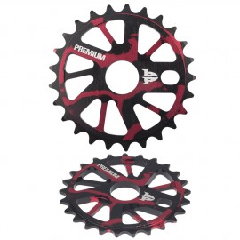 PREMIUM GNARSTAR SPROCKET SMOKE RED 25T