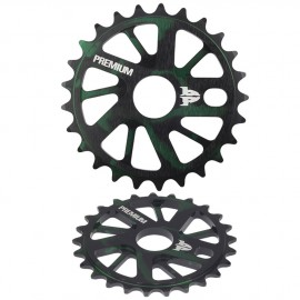 PREMIUM GNARSTAR SPROCKET SMOKE GREEN 25T