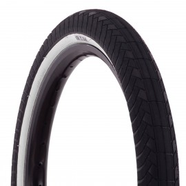 PREMIUM CK 20X2.2 BLACK WALL WHITE TIRE