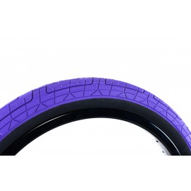 "COLONY GRIP LOCK 20x2.20"" TIRE PURPLE - BLACK WALL"