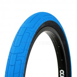 "COLONY GRIP LOCK 20x2.35"" TIRE BLUE - BLACK WALL"