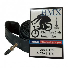 2 CHAMBRE A AIR BMX 20x1-1/8 et 1-3/8