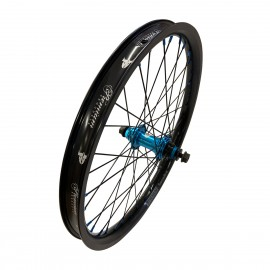 PREMIUM SAMSARA REAR WHEEL BLACK/BLUE