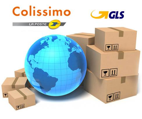 Livraison GLS 24/48 h et Colissimo
